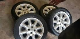 Set of 4 mg wheels