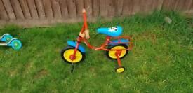 Micky mouse kids bike