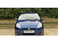 FIAT PUNTO 1.2L 2007 5DOOR 10 SERVICES WARRANTED MILES HPI CLEAR VERY BEAUTIFUL CONDITION