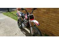 GHOST pitbike 200cc, perfect runner