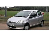 TOYOTA YARIS 1.0L 2004 1 OWNER MOT TILL2/8/2019 77000 MILE 15 SERVICES HPI CLEAR EXCELLENT CONDITION
