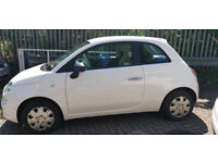 2013 FIAT 500 POP - 3 DOORS - MANUAL - WHITE - £30 A YEAR ROAD TAX