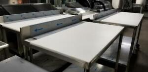 Brand New Stainless Steel Butcher Tables ( Heavy 16 Guage )