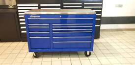 Blue Snap on roll cab/ toolbox