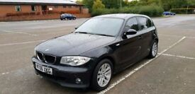 2006 BMW 118 I AUTOMATIC BLACK FSH