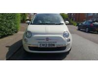 Fiat 500 lunch 2012, 37mileage, full service history main dealer,