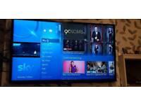 """Sony bravia 47"""" 3d hd smart tv"""