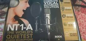 Rodes NT1A Studio condenser microphone