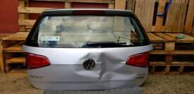 VW Volkswagen GOLF MK7 SILVER LA7W TAILGATE LIGHTS SALVAGE REPAIR BREAKING DAMAGED 2013 2014 2015