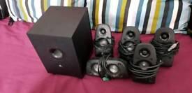 Logitech speakers 5.1