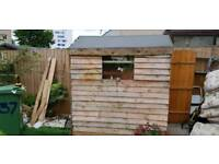 6ft x 4ft Wooden garden shed