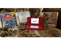 Nintendo Dsi Pink with games