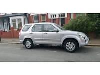 Honda CRV Automatic. Petrol. Silver. Executive. Leather seats. Navigation.