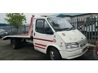 RECOVERY TRUCK TRANSIT 2.5D BANANA ENGINE 9 MONTH MOT READY FOR WORK
