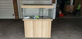 Juwel rio 180 litre fish tank aquarium and cabinet latest led model 3 ft setup 33