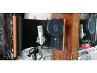 Editors keys sl150 studio microphone