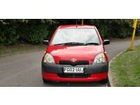 TOYOTA YARIS 1.0L 5DOOR 2 OWNERS MOT TILL11/7/2019 15 SERVICES HPI CLEAR EXCELLENT CONDITION