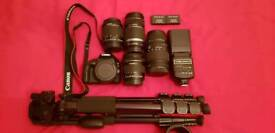 Canon Eos 100D plus loads of extras