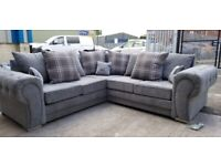 BRAND NEW VERONA CORNER OR 3+2 SEATER SOFA SET AVAILABLE IN STOCK