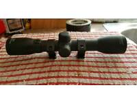 Rifle scope 4x32 as new condition can post at extra cost