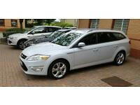 2011 Pearlescent White Ford Mondeo 2.0 163BHP Titanium X 5dr Manual Diesel Estate
