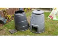 Compost bin (one)