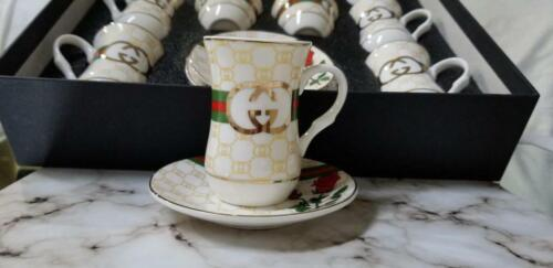 Inspired Gucci 12 cups set
