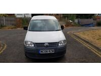 2008 Volkswagen Caddy 2.0 SDI PD C20 Panel Van 4dr Manual @07445775115