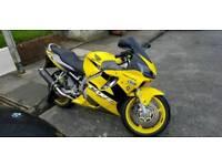 2001 Honda CBR 600cc F1