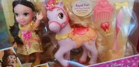 Disney Princess petite Belle & Pony