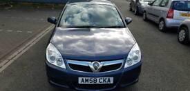Low mileage Vauxhall vectra exclusive 1796cc. 5 door hatchback.
