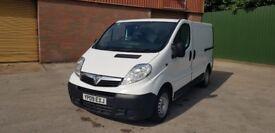 2009 Vauxhall Vivaro SWB 2.0DCI Fridge Van