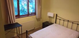 Double room near station - spacious house share with professionals