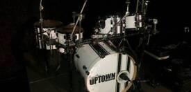 Pearl drum kit vision series racing stripe ltd ed