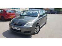 55 plate -toyota corolla - 2.0 litre - D4D diesel - one year mot - body kitted - alloy wheel