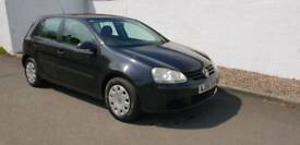 Volkswagen golf S80 cheap car to insure years mot service history new timing belt