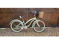 Alpha plus Ladues Vintage Bike Bicycle with basket