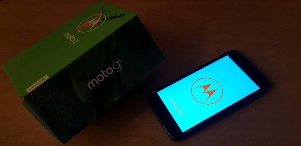 Brand new Moto G5
