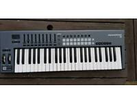 Novation launchkey 49 keyboard.