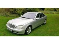 STUNNING (WITH VIDEO) MERCEDES S500 LIMO LWB,NEW SERVICE & MOT, HPI CLEAR, FSH