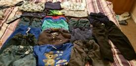 Boys clothing bundle 2-3 and 3-4