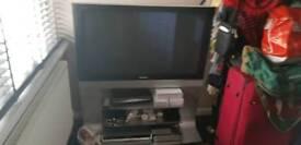 Panasonic Plasma TV and Unit