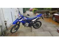 Yamaha wr125r 12 months MOT 125cc