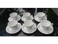Vintage China cups and saucers Winterling Bavaria