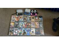 3 PSPs and games/movies bundle