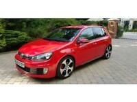 **2010 Volkswagen Golf GTI 2.0 TSI (Leather, Sat Nav, Reverse Camera)**