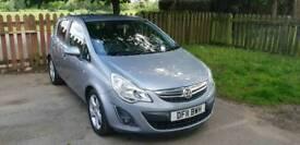 1.2 Titanium Silver Vauxhall Corsa 1.2 Petrol - Manual _LOW MILEAGE_