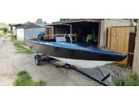 Fast fishing boat 19ft