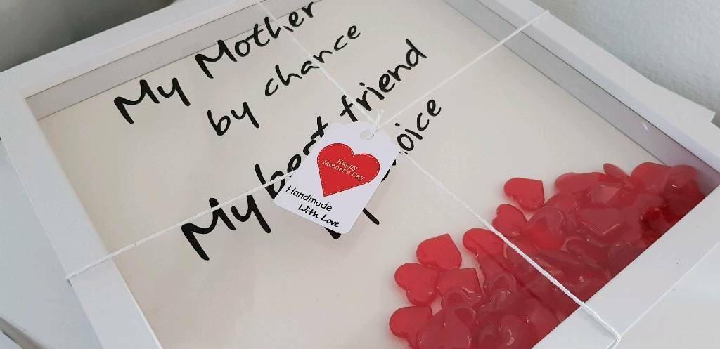 Mothers day mum verse 12 x 12 handmade box frame   in Cookstown ...