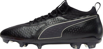 Puma ONE 2 Leather Firm Ground Mens Football Boots - Black